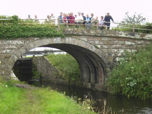 Canal Footpath and Bridge after Glasson Dock